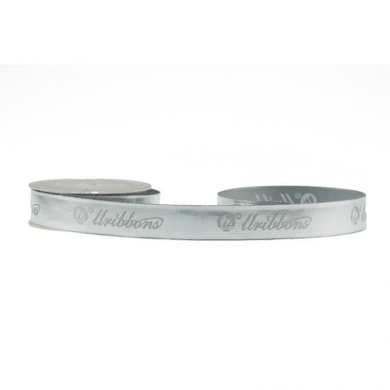 Foil Silver Satin Ribbon
